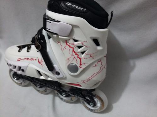 patines free style con luz led en llantas +regalo