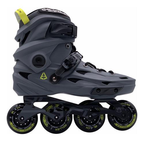 patines freeskate profesionales black con protecciones gratis