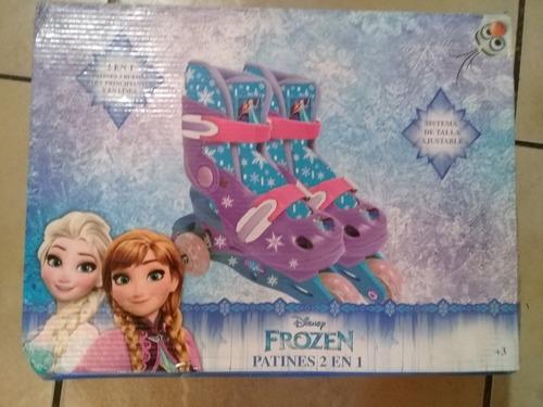 patines frozen ajustables del 31-34