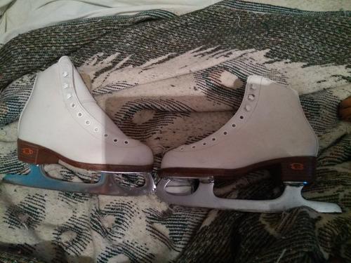 patines hielo artistico soft skate # 19 cm mx