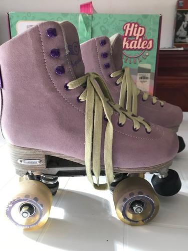 patines hip deluxe clásicos numero 4 mex