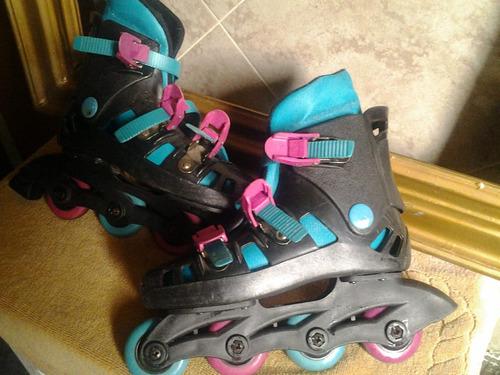 patines importados rollers 37 38 y otro par ajustables