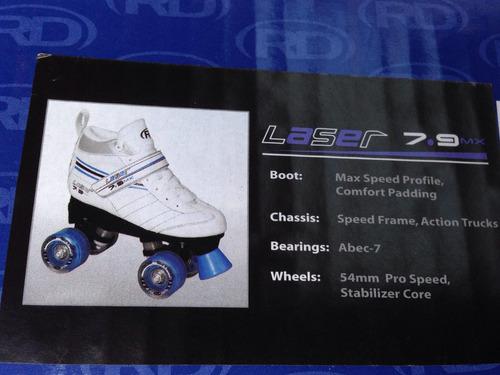 patines lazer de roller derby profesionales