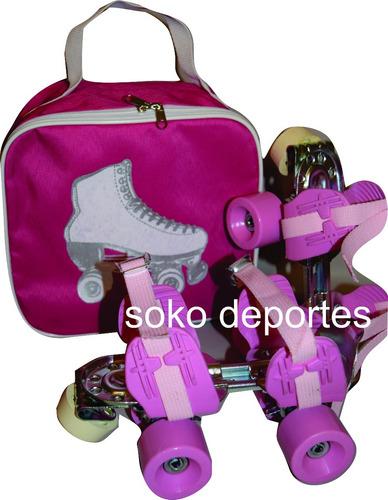 patines leccese rosa o amarillos o combinados oficial soko
