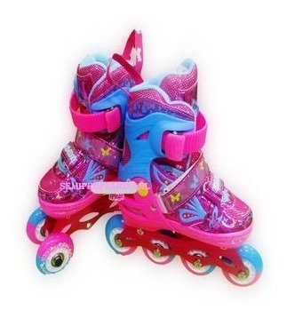 patines linea estilo soy luna+kid de proteccion