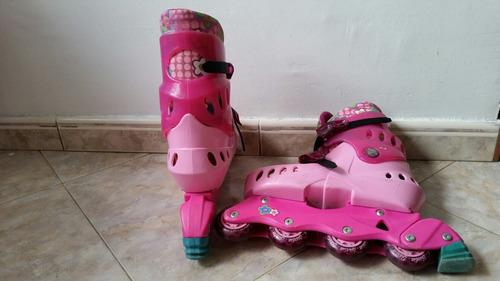 patines lineales hot wheels y barbie
