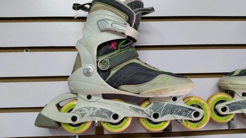 patines lineales y cuatro ruedas todos los size