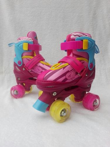 patines logo soy luna de 4 rueedas pricesas aladas