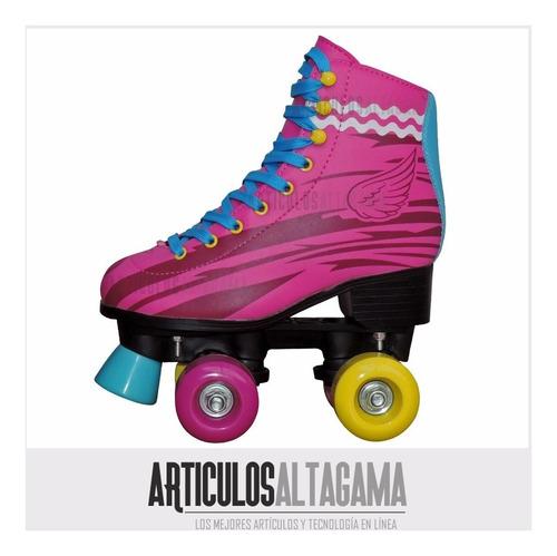 patines luna 4 ruedas artísticos semiprofesionales