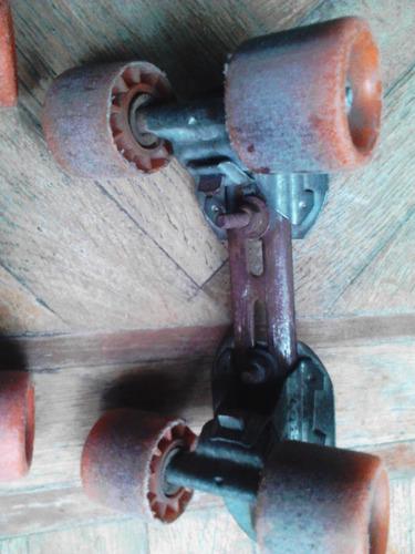 patines metal muccilli extencibles  años 70