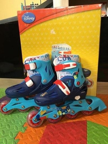 patines mickey mouse talla 31 al 34