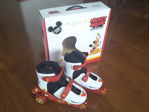 patines mickey mouse talla s (31-34)