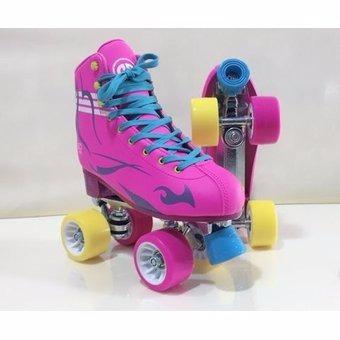 patines mod. soy luna clásicos cuatro ruedas  ollie fucsia