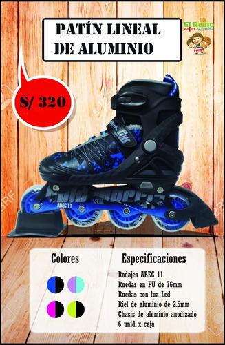 patines modelo 2017 niño y adulto