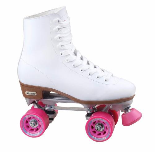 patines mujer clasicos chicago para pista talla 25cm nuevos