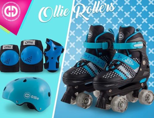 patines oka mod soy luna + kit protecc tienda san miguel