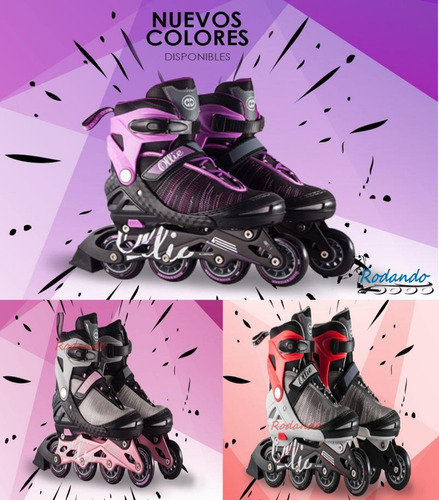 patines ollie- fitness - base aluminio -llantas 76mm¡nuevos!