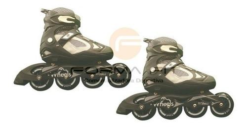 patines onwheels rueda de 90mm ajustable 39-42  envio gratis