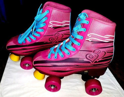 patines para chica pink, estado: 8.8/10 precio 150 soles