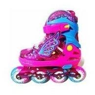 patines para niñas  con luz en las llantas
