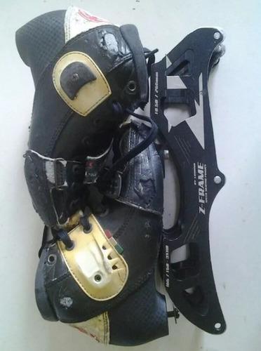 patines profesionales ajustable luigino