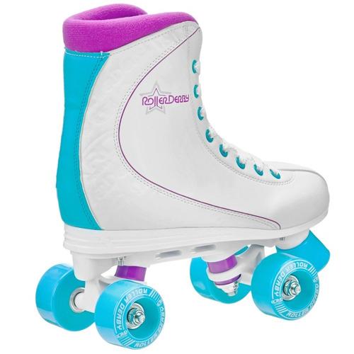 patines rd 4 ruedas roller star 600w (38, 39, 40) (soy luna)