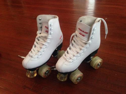 patines rebelblade blancos no.22