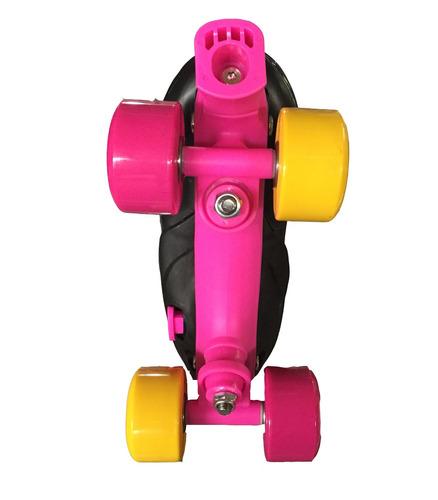 patines roller 4 ruedas estilo soy luna  ajustables + kit