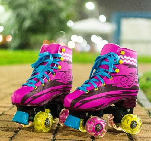 patines roller 4 ruedas estilo soy luna / ekipofertas