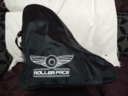 patines roller face negro verde