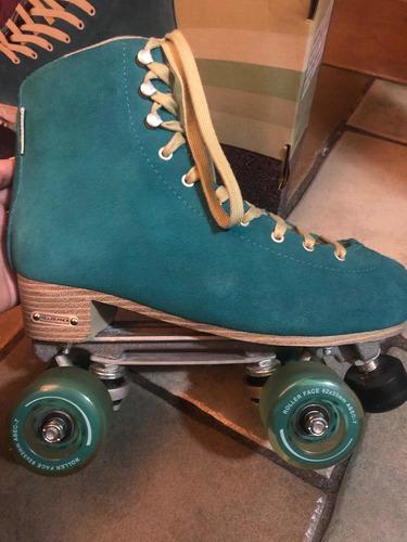patines roller face retro de 4 ruedas #7 mex