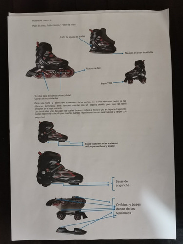 patines rollerface classic switch 3