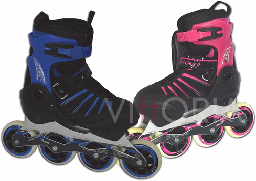 patines semiprofesionales chicago abec 13 90mm bucle profesi