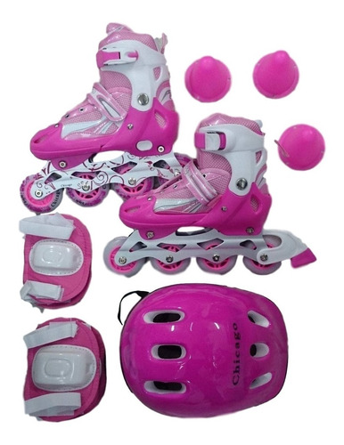 patines semiprofesionales niño niña kit protección