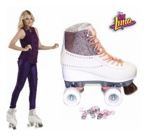 patines soy luna ambar  100% original