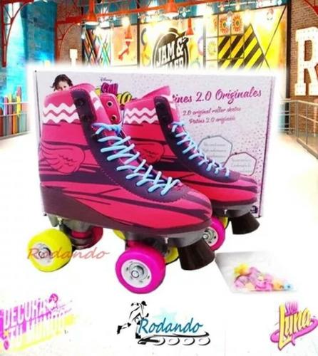 patines soy luna/ ambar originales disney/ promocion