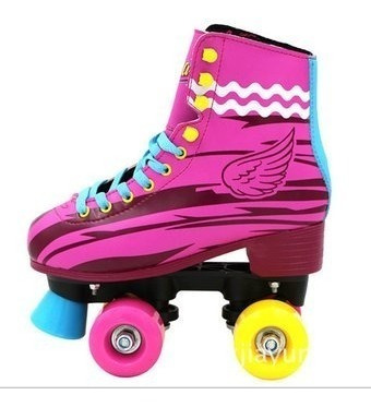 patines soy luna artisticos 4 ruedas semi profesionales + ob