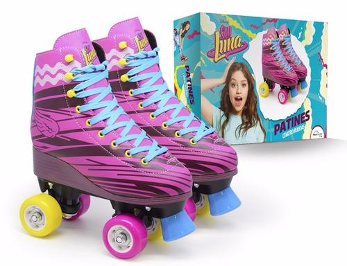 patines soy luna nuevos profesionales disney luna o ambar