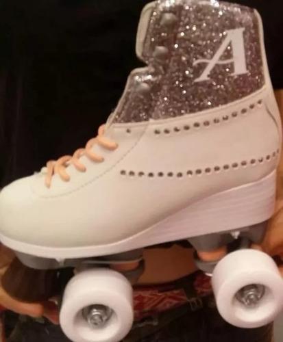 patines soy luna original 100% de disney ambar, rayos de sol
