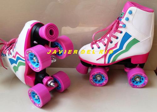 patines tipo soy luna rock roller nuevos, delivery gratis*