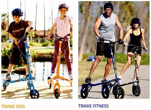 patines trikke t5 p/ niños entre 5 y 7 años negro con verde
