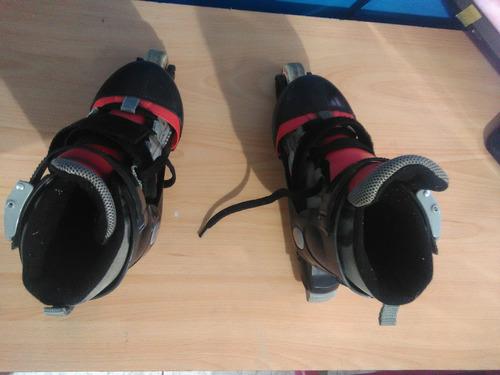 patines unisex pro trainer skates ajustables talla 32
