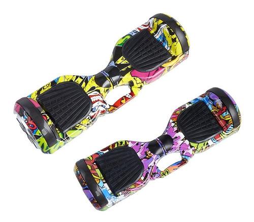 patineta eléctrica 6.5 pulgadas hoverboard scooter 2 ruedas