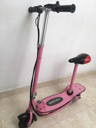 patineta eléctrica scooter de segunda, en buen estado