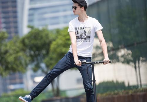 patineta electrica scooter urbano plegable adulto joyor a1