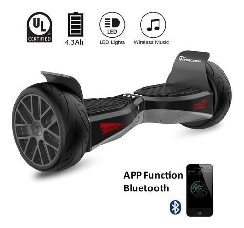 patineta electrica smart skate hoverboard mk016/17 10 cm diámetro