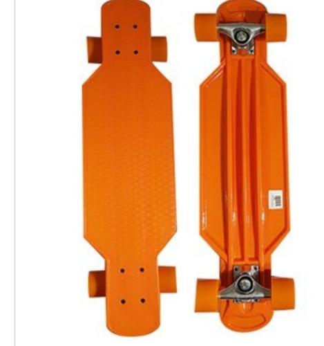 patineta long board con luces led varios colores disponibles