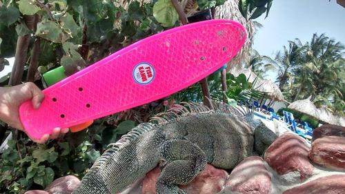 patineta mini cruiser  skate fish kanui rio classic + tula