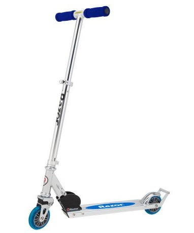 patineta razor a2 kick scooter blue