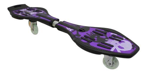 patineta ripstik 2 ruedas c/luz led